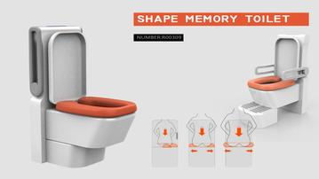 Winner Project Shape Memory Toilet 1